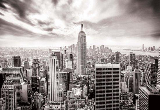 Fotobehang City Skyline Empire State New York | XXXL - 416cm x 254cm | 130g/m2 Vlies