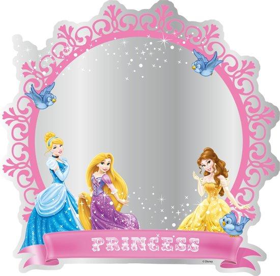 Disney Prinses - Spiegel - Roze - 30x30 cm