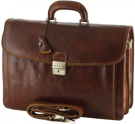 Porte-documents En Cuir Marron Marington Arona XgMvFb