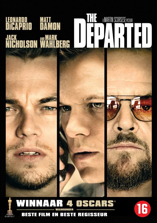 Cover van de film 'The Departed'