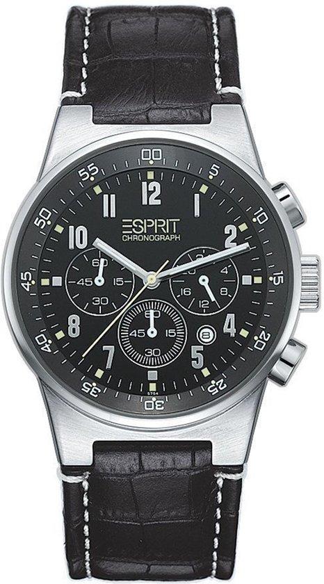 d79a02f9096 bol.com   Esprit Equalizer Black Chrono 4260600 - Horloge - Zwart