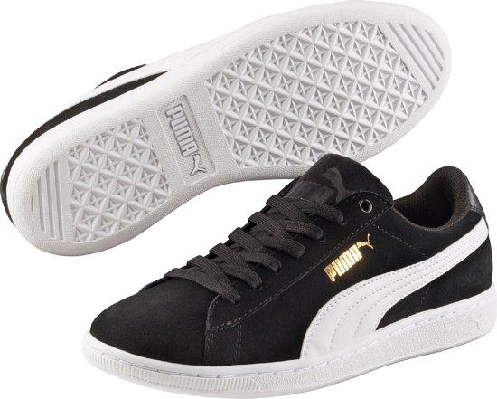 PUMA Sneakers Vikky 362624 02  - Dames - Black-White - Maat 4