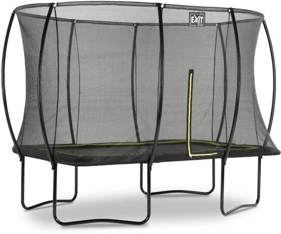 EXIT Silhouette trampoline 244x366cm - zwart