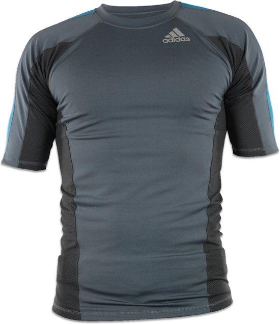 Adidas T-shirt Fluid Heren Grijs Maat Xl