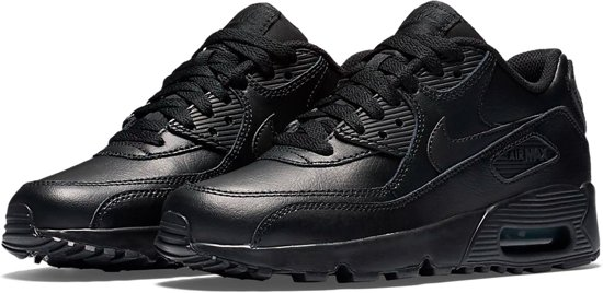 Nike Air Max 90 Leather Sneakers 833412-001 maat 38.5- Black
