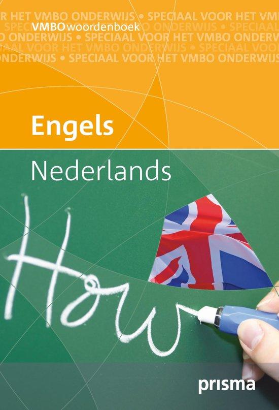 Prisma vmbo woordenboek Engels-Nederlands