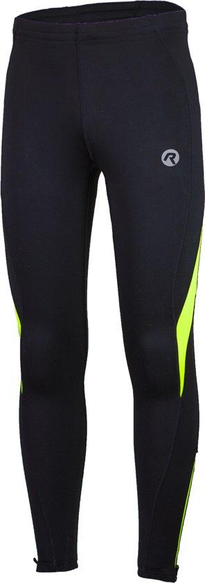 Rogelli Dunbar Running Wintertight  Hardloopbroek - Maat XL  - Mannen - zwart/geel