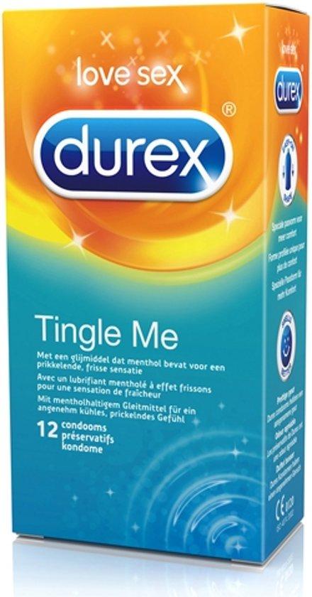 Durex Tingle Me Condooms 12 st
