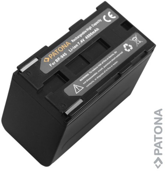 Battery for CANON BP-945 / XL1 / XM2 / E1 / E2 / E30 / GL2 in Tiggelt