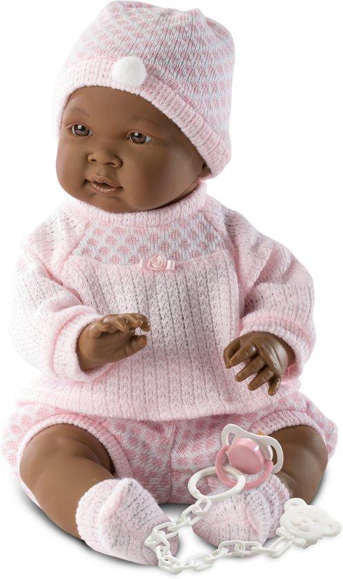 Llorens babypop meisje donker 45 cm met speen