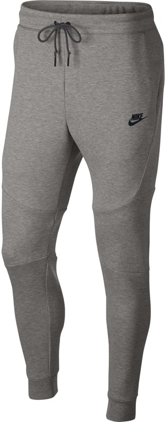 Nike Nsw Tech Fleece Joggingbroek Heren - Dk Grey Heather/Black/(Black) - Maat XL