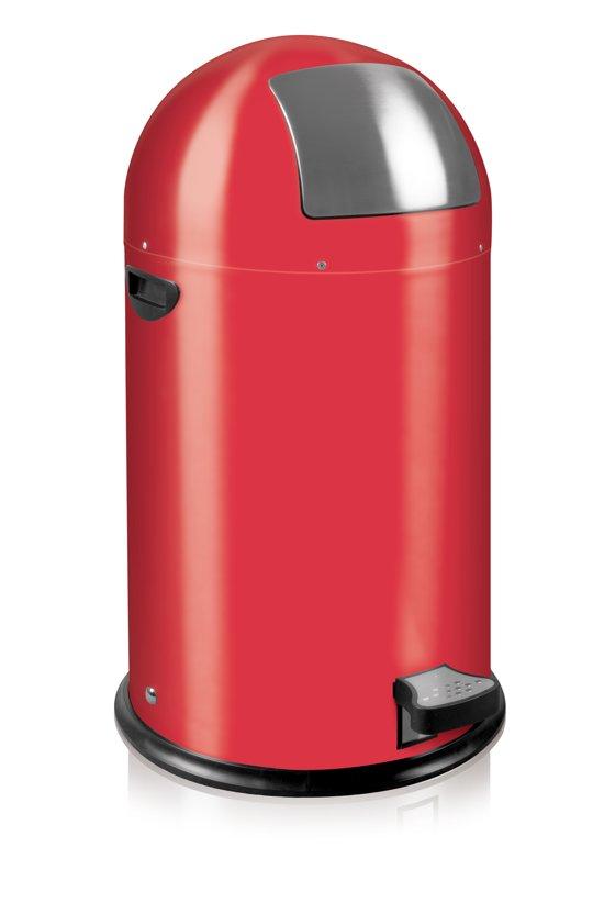 Eko Kickcan 33 Liter Rood.Eko Kickcan Prullenbak 33 L Rood