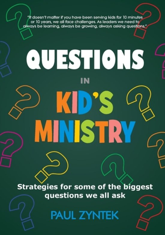 Questions in Kid's Ministry