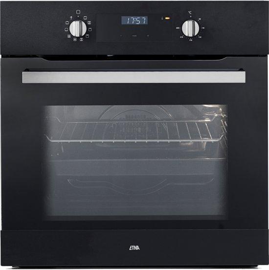 ETNA OM965ZT - Kubieklijn - Inbouw Oven - Zwart