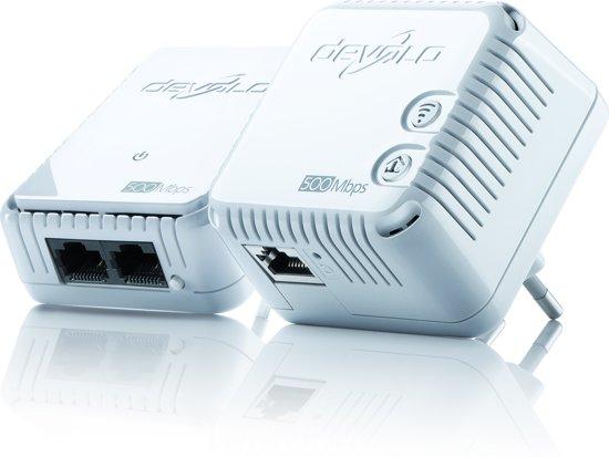 devolo dLAN 500 WiFi Powerline - 2 Stuks - NL