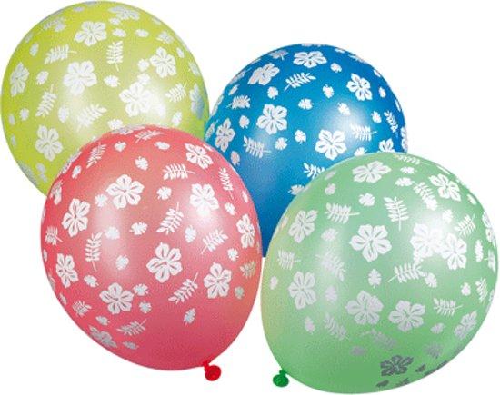 Hawaii party thema ballonnen 5x stuks