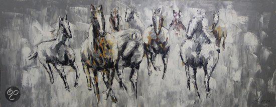 Ongekend bol.com | schilderij wilde paarden PG-71