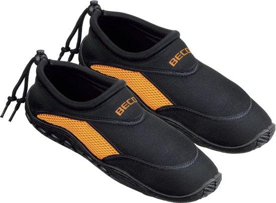 BECO - Waterschoenen - Volwassenen - Zwart/Oranje - 43