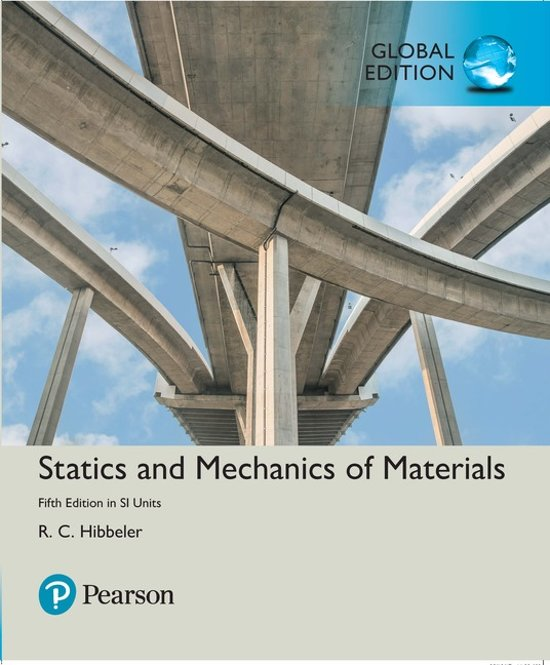 Statics and Mechanics of Materials in SI Units - Russell C. Hibbeler