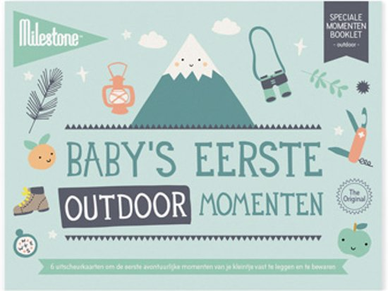 Milestone® Special Moments Booklet - Baby's eerste outdoor momenten