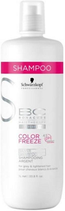 MULTI BUNDEL 3 stuks Schwarzkopf Bc Color Freeze 4.5 Ph Silver Shampoo 1000ml