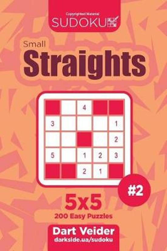 Sudoku Small Straights - 200 Easy Puzzles 5x5 (Volume 2)
