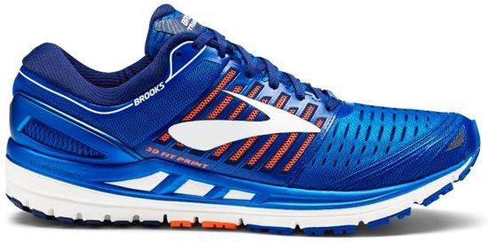 58e1df17303 Brooks Transcend 5 blauw hardloopschoenen heren
