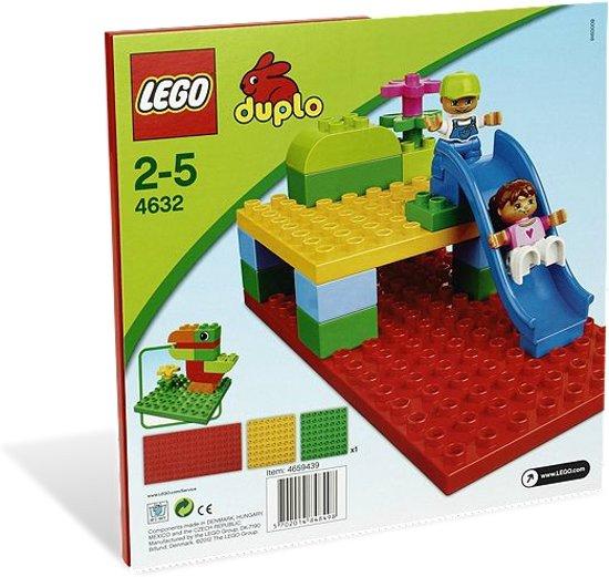 lego duplo bouwplaten 4632 lego. Black Bedroom Furniture Sets. Home Design Ideas