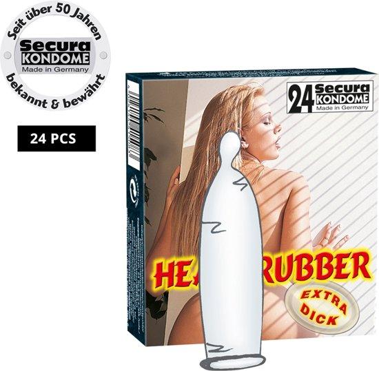 Goedkope Condooms Heavy Rubber 24 stuks