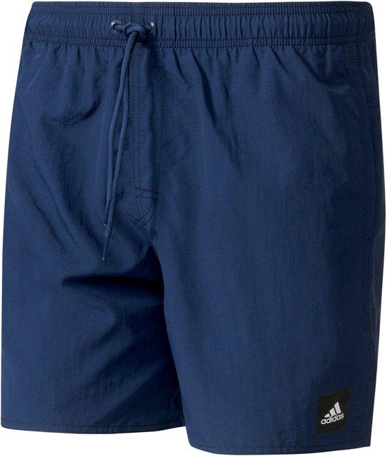 Blauwe Zwembroek.Bol Com Adidas Solid Zwembroek Maat L Mannen Blauw