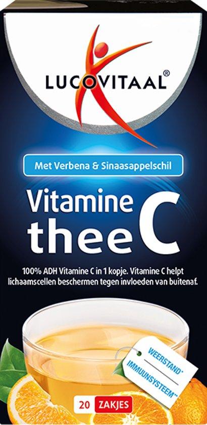 Lucovitaal Vitamine C Thee - 20 stuks