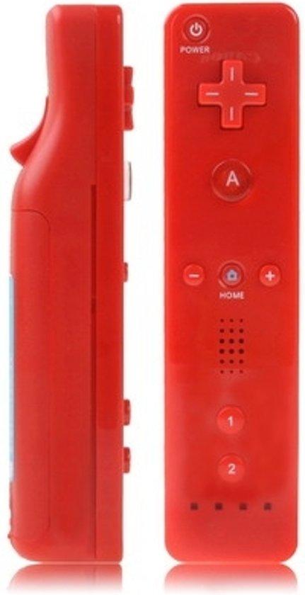 Wii Remote Controller - afstandbediening voor Wii (rood) kopen
