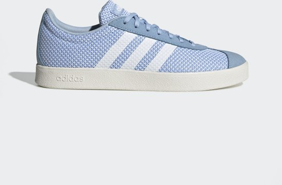 adidas VL COURT 2.0 Dames Sneakers - Glow Blue - Maat 39 1/3