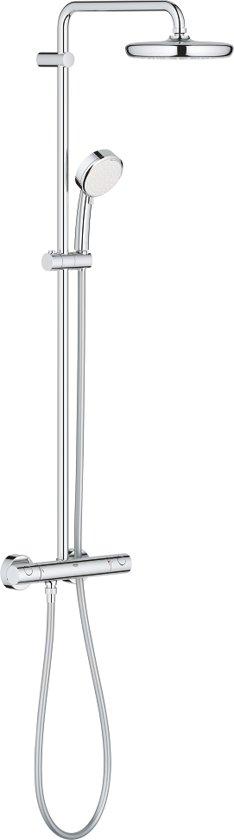 GROHE Tempesta Cosmopolitan 210 Douchesysteem - Regendouche ø 21 cm - Met thermostaatkraan - 15 cm hartafstand