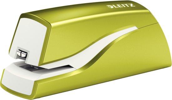 Leitz Elektrische Nietmachine WOW Batterij - 10 vel - groen