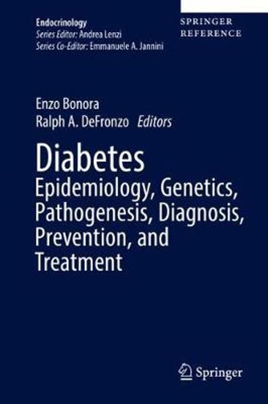 Diabetes Epidemiology, Genetics, Pathogenesis, Diagnosis, Prevention, and Treatment