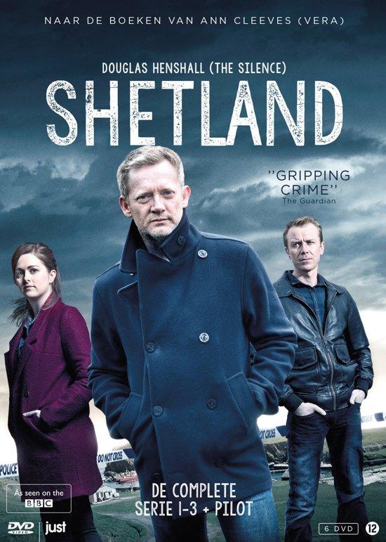 DVD cover van Shetland - Collection season 1-3 plus pilot