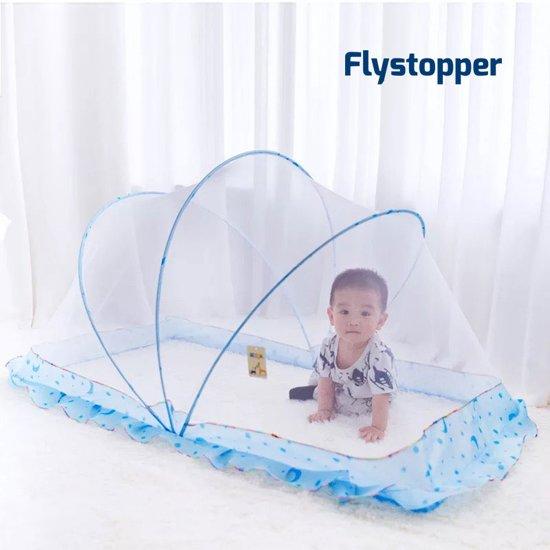 Baby klamboe Baby tentje uitvouwbaar 65x130x70 cm   Flystopper BK130