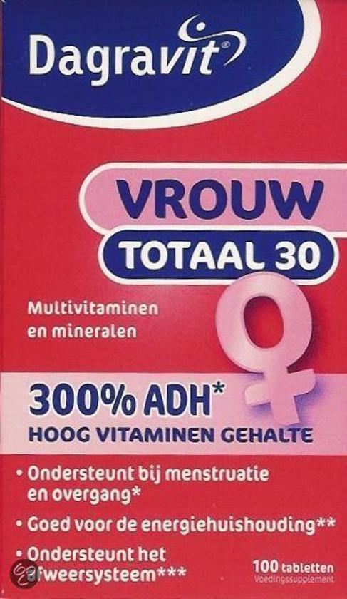 vrouw vitamine