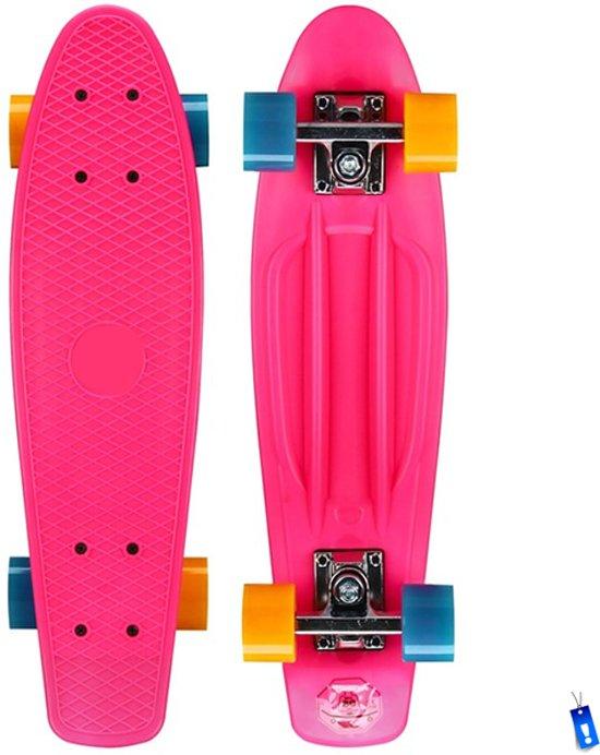 Verbazingwekkend bol.com | Pennyboard Penny Board Plastic Retro Skateboard - 22,5 WI-91