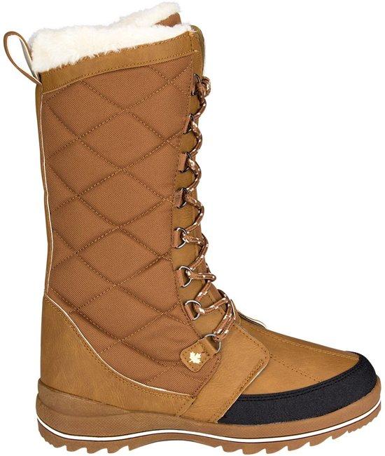 Winter-grip Checkered Walker - Snowboots - Vrouwen - Licht Bruin - Maat 36