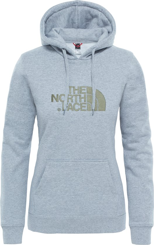 The North Face Drew Peak PLV Hoodie Trui - Dames - Light Grey Heather