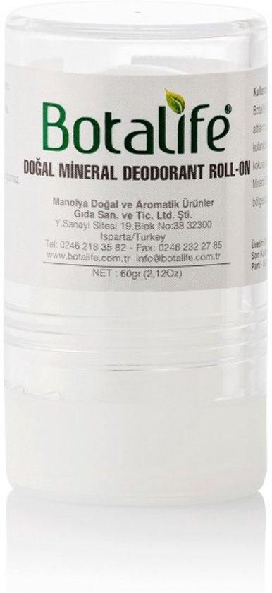 Foto van Botalife - Anti zweet mineral deodrant rol - 100% natuurlijk & Parabeenvrij en silikonenvrij!
