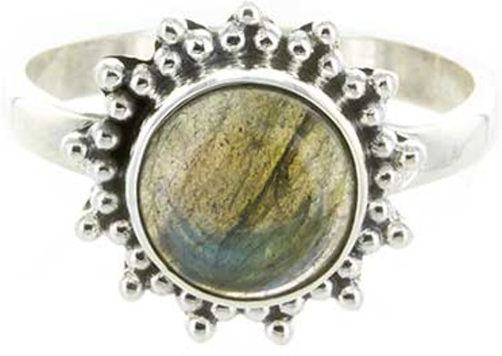 Starry ring - Labradoriet - maat 19.00 mm - maat 19.00 mm