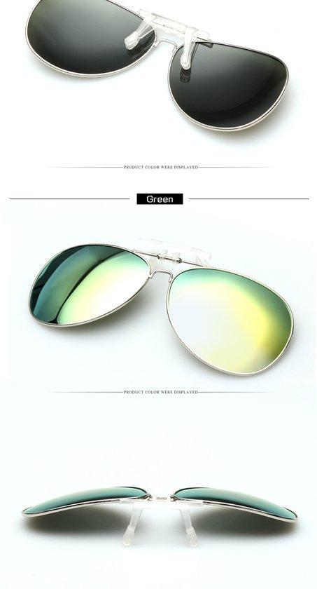 clip on voorzet zonnebril