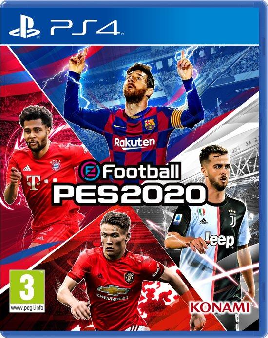 Cover van de game eFootball PES 2020 - PS4