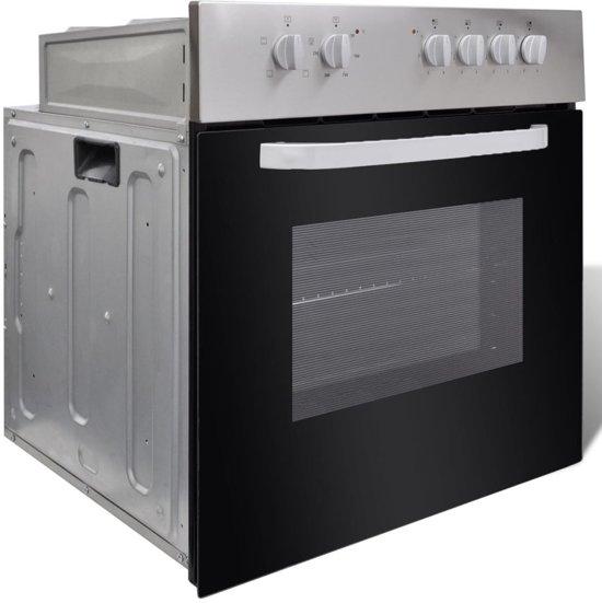 Betere bol.com | vidaXL Oven en kookplaat combiset elektrisch inbouw IL-63