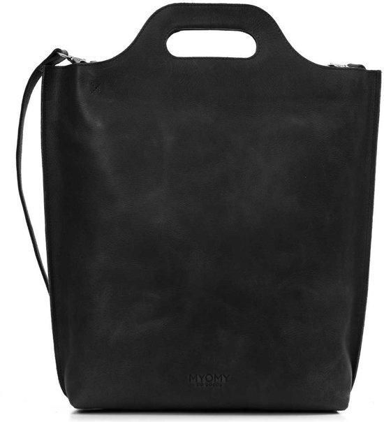 MYOMY Carry Hunter Off Black Shopper MOM80241081-N