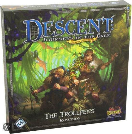 Afbeelding van het spel Descent Journeys in the Dark The Trollfens exp.