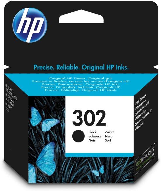 HP 302 - Inktcartridge / Zwart